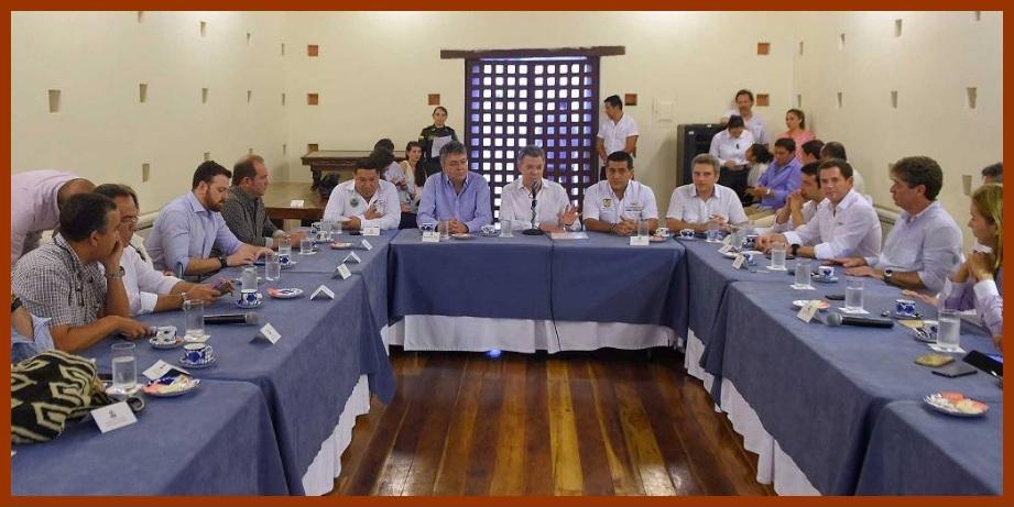 ¡Definitivo!: el presidente Santos garantiza recursos para protección costera de Cartagena