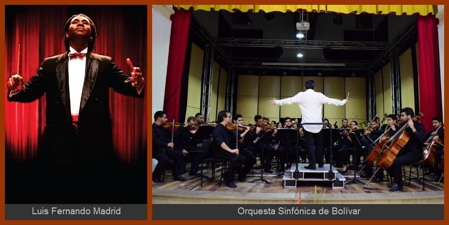 Este martes, el músico Luis Fernando Madrid ofrecerá un concierto con la Sinfónica de Bolívar