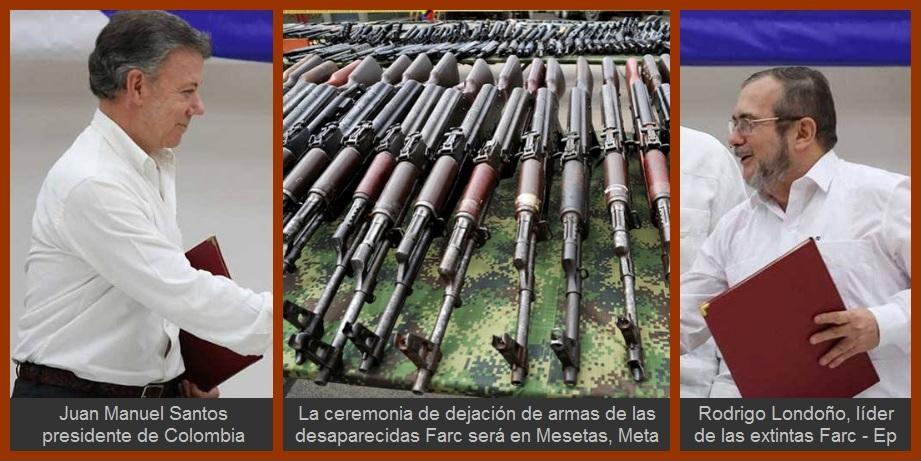 Líderes de Cartagena y Bolívar, complacidos por la dejación de armas de las extintas Farc-Ep