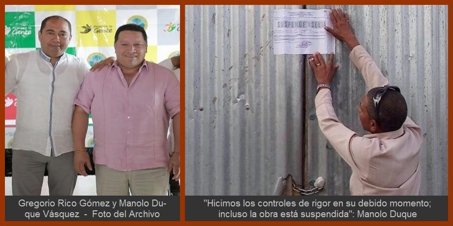 Mensaje de Manolo Duque a Gregorio Rico y a los entes de control, ¿aún sin respuesta?