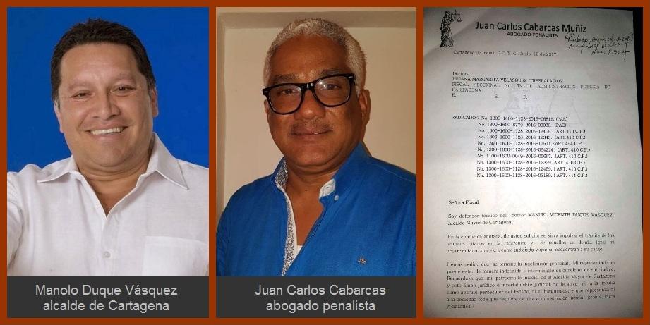 Defensor de Manolo Duque pide a la Fiscalía agilizar procesos contra su cliente