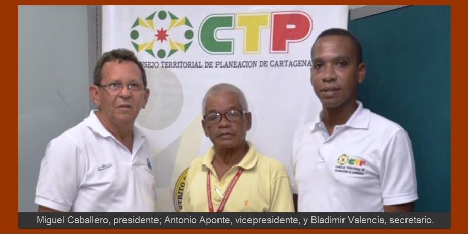 Consejo Territorial de Planeación de Cartagena, con nueva directiva y nuevas metas