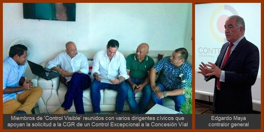Contraloría General realizará control excepcional a la Concesión Vial de Cartagena