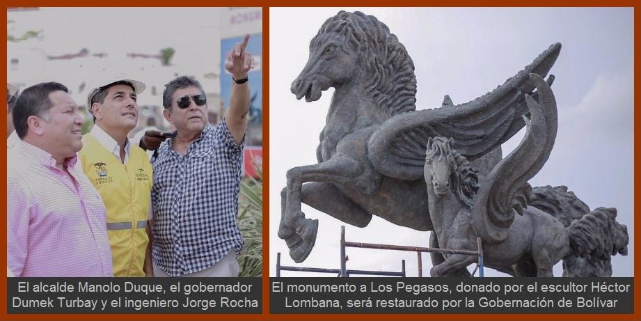 Los Pegasos del maestro Héctor Lombana, dos meses en cuarentena