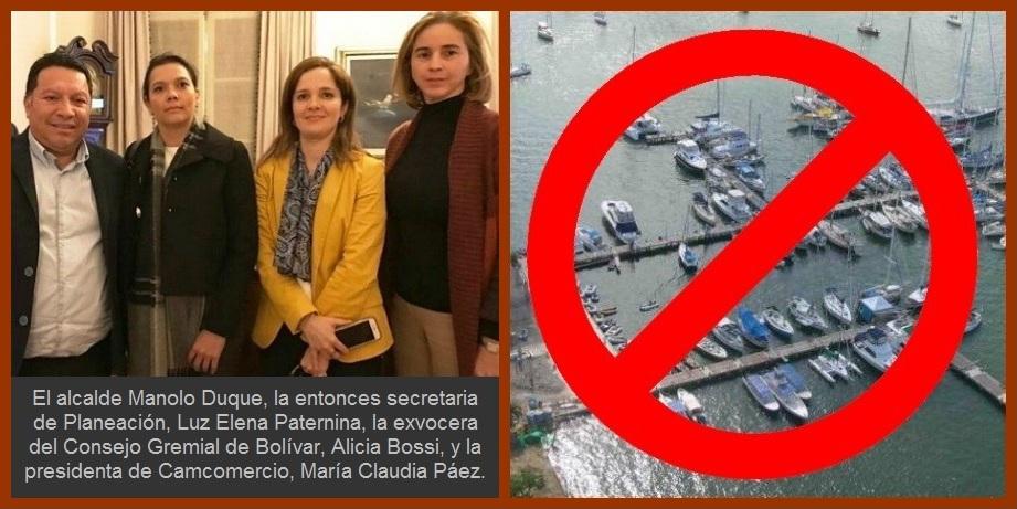 Y definitivamente la unión fue la solución: la marina en Castillogrande no va…