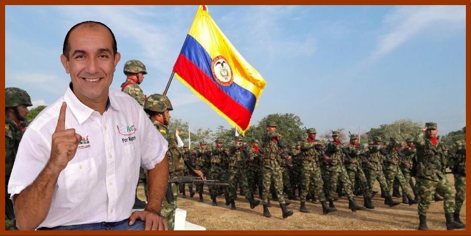 «Traslado de la sede del Batallón Nariño a Magangué, una petición justa y necesaria»: Pedro Alí