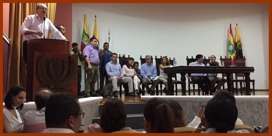 Procurador pide a los veedores de Cartagena que sean sus aliados contra la corrupción