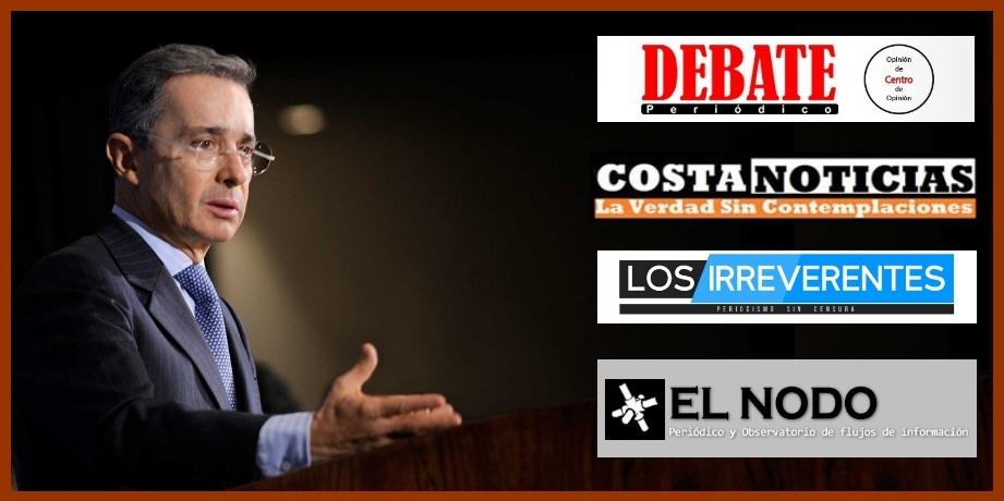 La Silla Vacía devela cómo Uribe valida a medios que replican sus posiciones y mentiras
