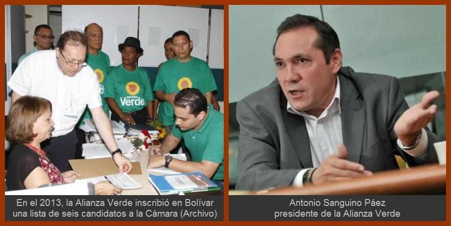 Por decisión de su Comité Ejecutivo, Alianza Verde se queda sin dignatarios en Bolívar