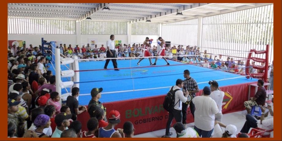 En el municipio de Soplaviento ya no se practicará boxeo bajo la sombra de un árbol