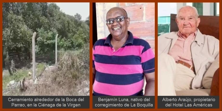 Denuncian (otra) supuesta apropiación ilegal de un terreno en La Boquilla