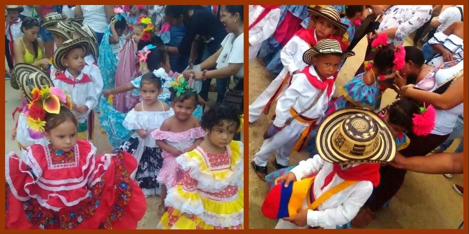 Los niños sanjacinteros brillaron durante el Festival Autóctono Nacional de Gaitas