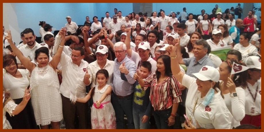 Robledo, Castro y Múnera, los candidatos del Movimiento de Integración Comunitaria