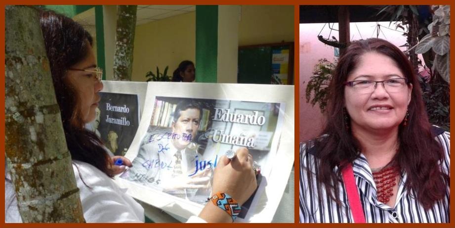 «Un gran reto es la construcción de la paz en el disenso»: Alejandrina Pacheco Peña