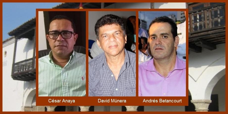Exconcejales (¿y precandidatos a la Alcaldía?) se refieren a la crisis que padece Cartagena