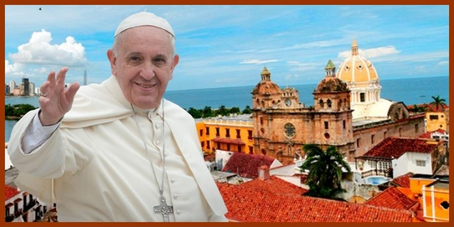 El Papa Francisco, a renovar la esperanza en una Cartagena realmente incluyente