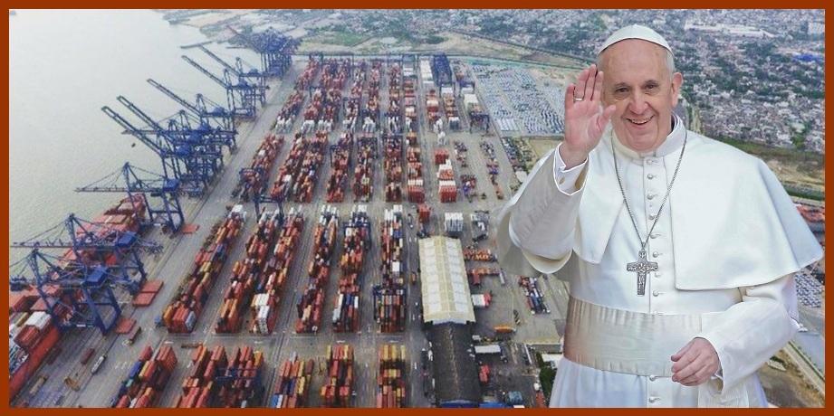 En medio de la euforia por visita del Papa, en Cartagena critican su presencia en Contecar