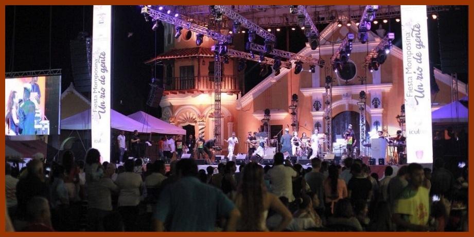Con un majestuoso 'Río de Gente' comenzó a calentarse el VI Mompox Jazz Festival