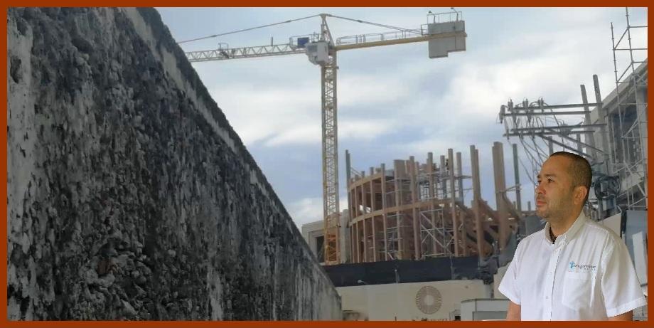 Denuncian que obras de La Serrezuela también afectan bienes patrimoniales de Cartagena