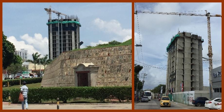 Construcción de rascacielos cerca del Castillo de San Felipe también le inquieta a Mincultura