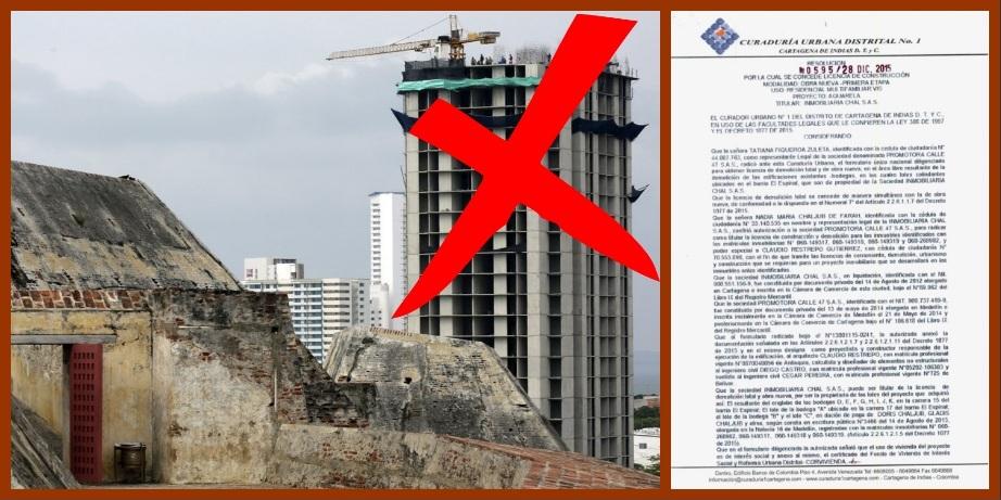 Sí se pudo: suspenden temporalmente obras del Aquarela «por no cumplir las normas»