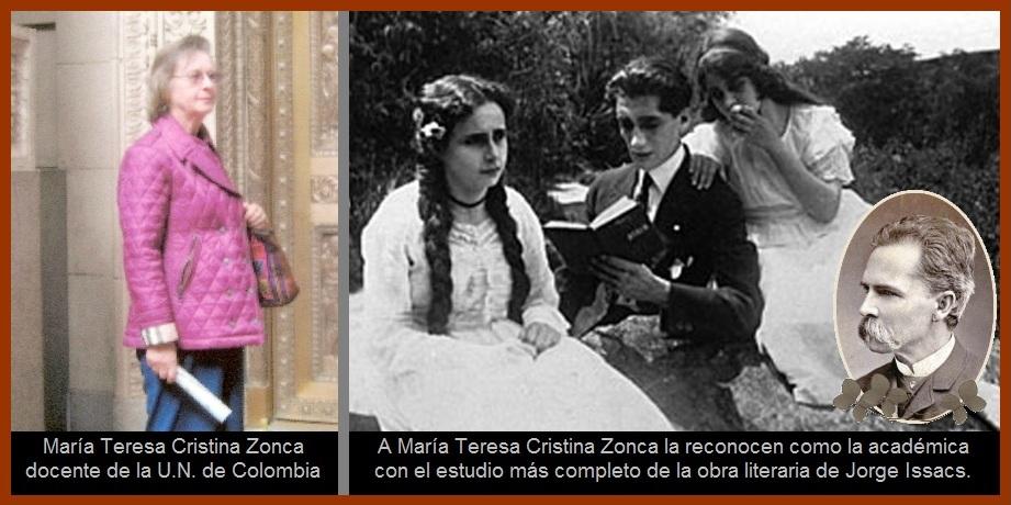 María Teresa Cristina Zonca: redescubriendo las letras colombianas