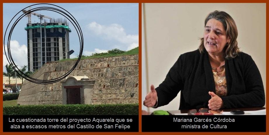 Mincultura pide suspender obras del Aquarela para que no se vulneren derechos colectivos