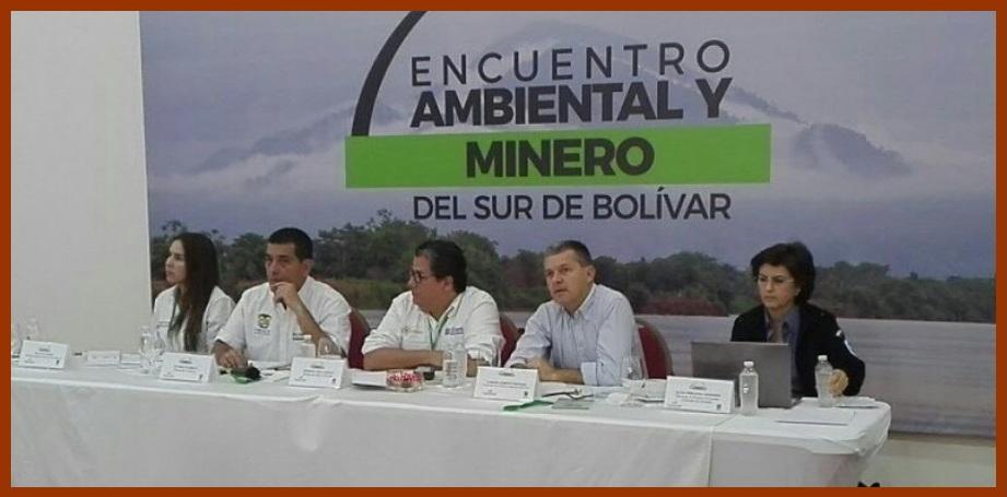 «Lo que se haga en la Serranía de San Lucas será lo concertado con la comunidad»: D. Turbay