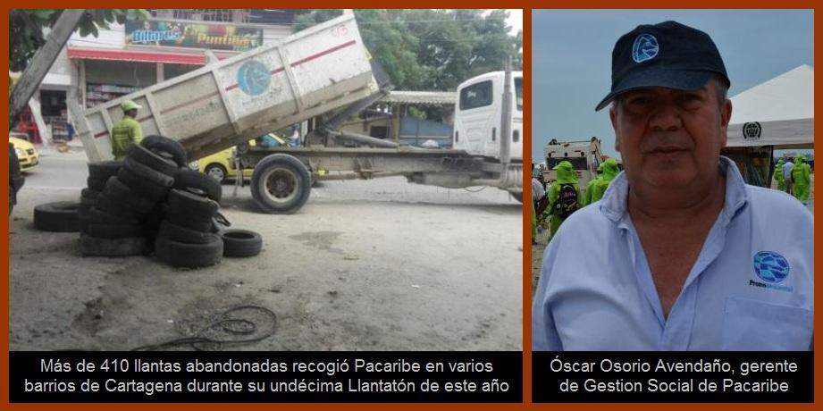 De cara al Día Internacional del Aire Puro, Pacaribe realiza su 11° Llantatón