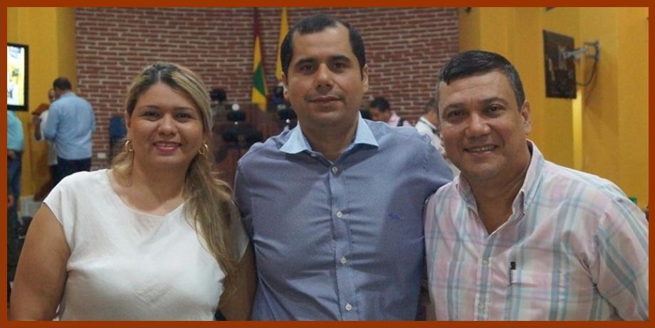 Wilson Toncel, Judith Díaz y Javier Curi, los nuevos dignatarios del Concejo en el 2018