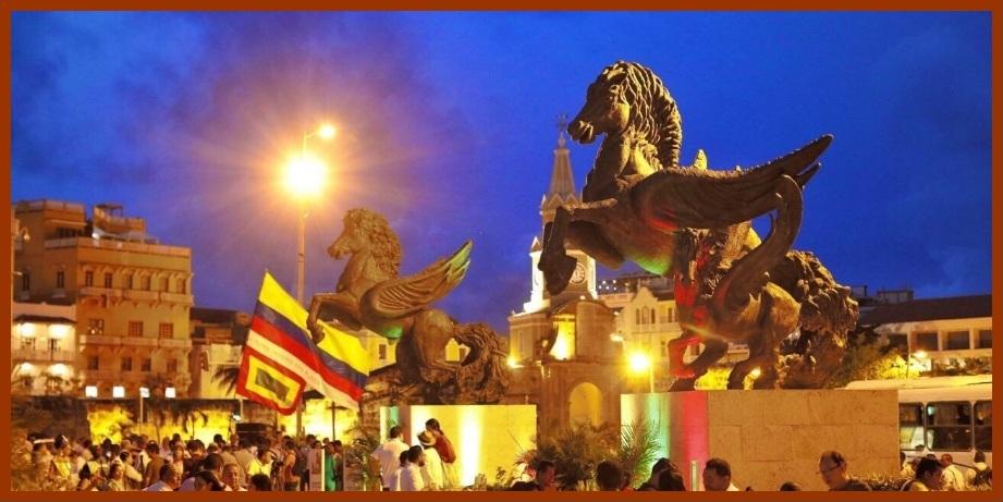 Cartageneros y visitantes, a disfrutar nuevamente el monumento a Los Pegasos