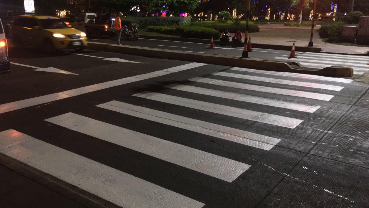 Gobernación de Bolívar invierte $74 millones en señalización de la avenida Santander