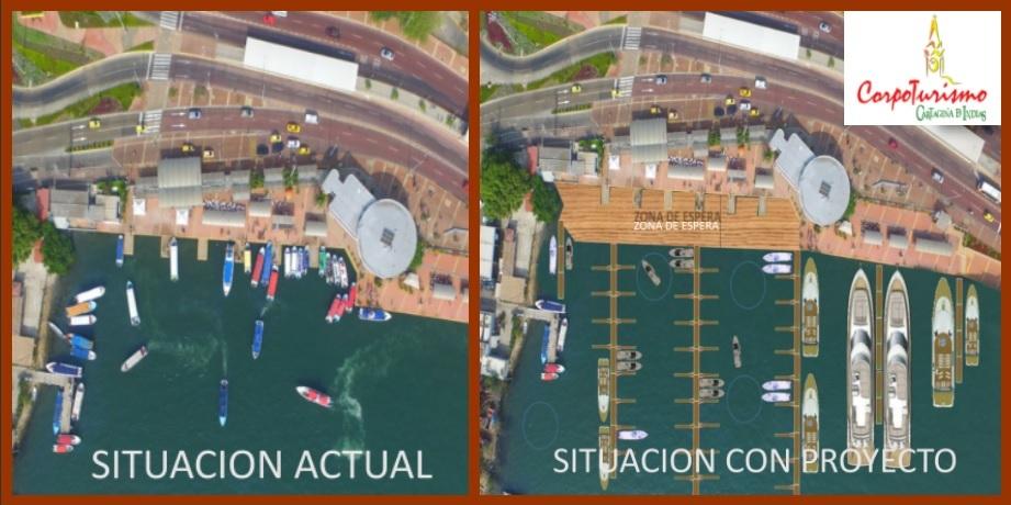 Corpoturismo admite que sí proyecta construir una gran marina en la Bahía, pero pública…