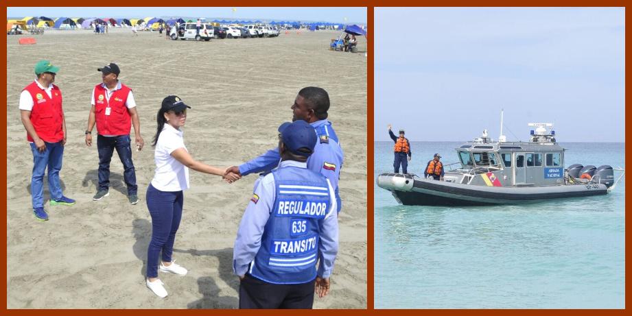 Durante la temporada, las playas de Cartagena será monitoreadas por guardacostas