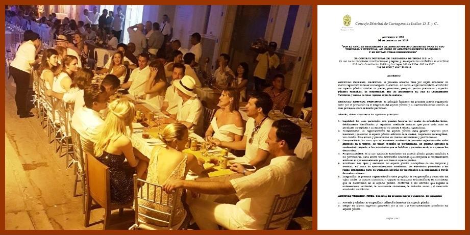 El espacio público de Cartagena de Indias, ¿parcelado y concesionado? – II