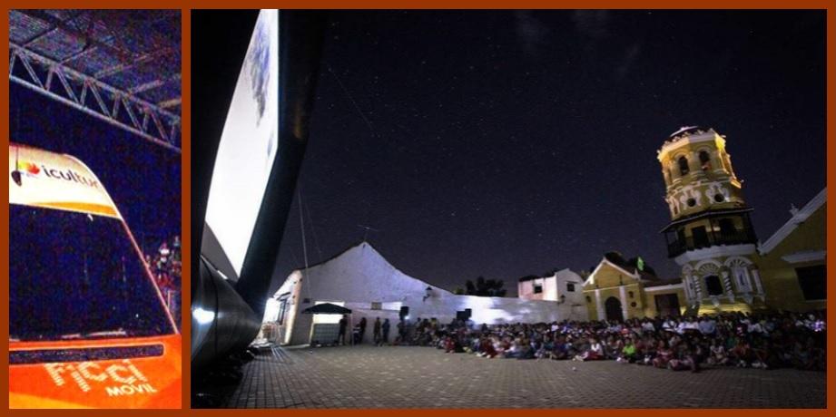 El Cine, una máquina de sueños para los niños bolivarenses