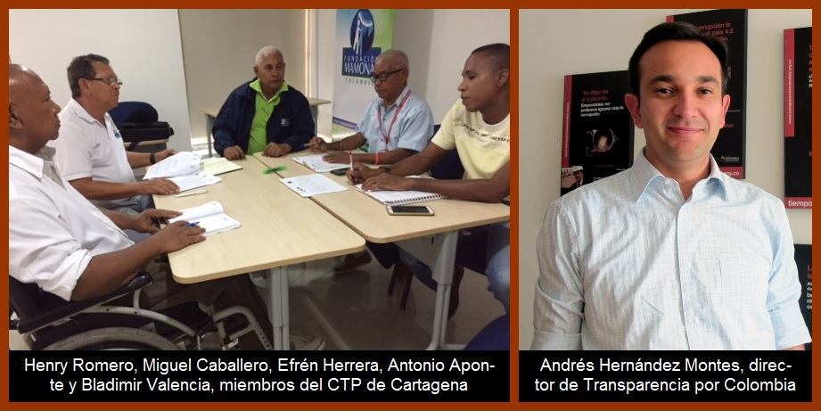 CTP de Cartagena y Transparencia por Colombia también le responden a Londoño