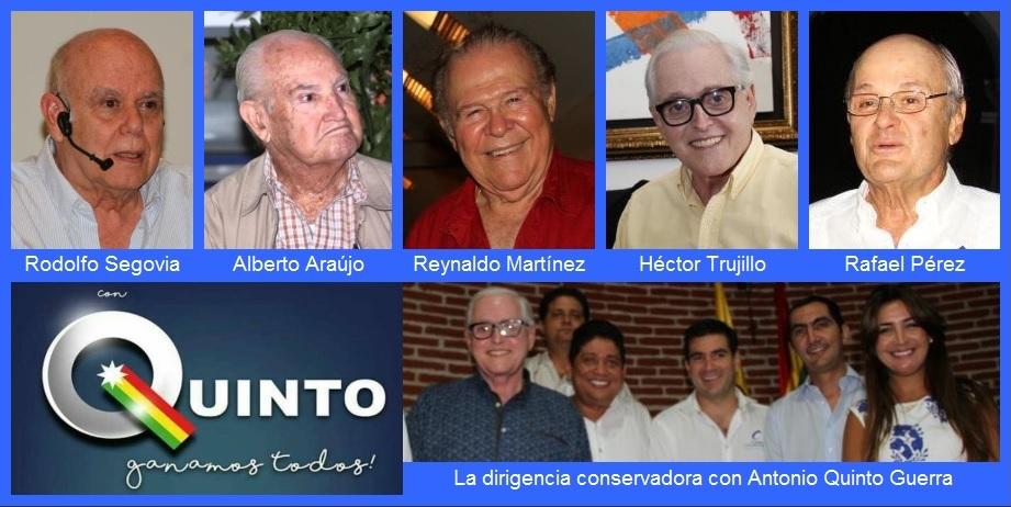Empresarios y varios líderes locales anuncian respaldo a Antonio Quinto Guerra