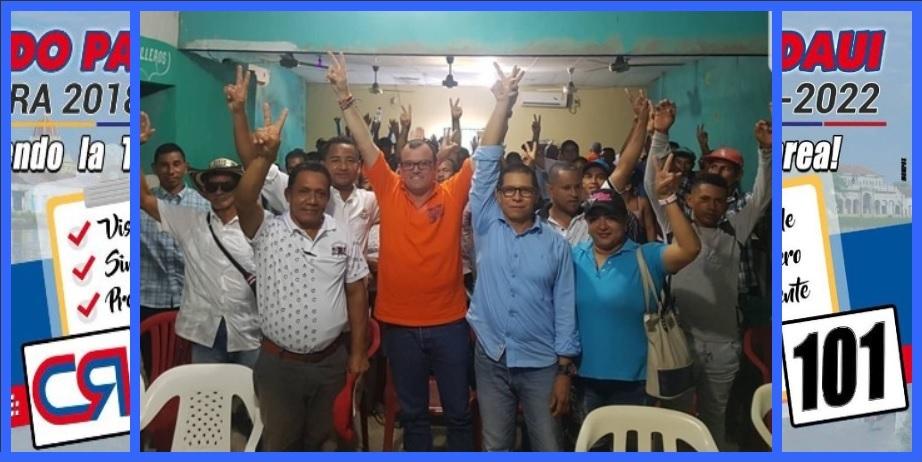 Hernando Padauí sigue sumando respaldos a su campaña a la reelección