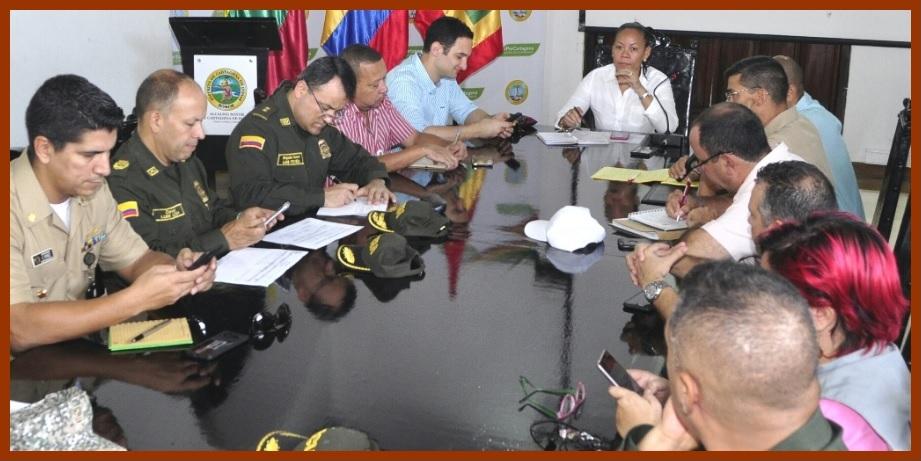 Ante amenazas del ELN, autoridades de Cartagena dan parte de tranquilidad