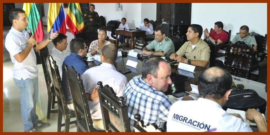 Autoridades distritales se alistan para brindar garantías durante las próximas elecciones