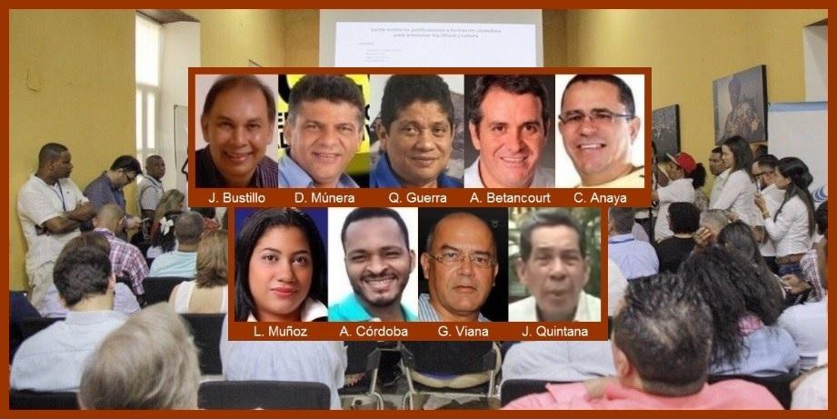 Hoy, primer 'cara a cara' de los nueve candidatos a la Alcaldía de Cartagena