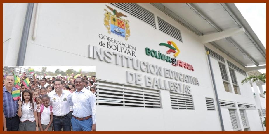 Institución educativa de Ballestas, un sueño hecho realidad tras largos años de espera