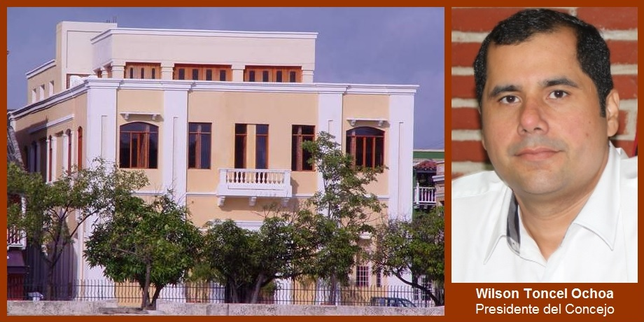 «El Concejo de Cartagena está abierto y sigue funcionando»: Wilson Toncel Ochoa