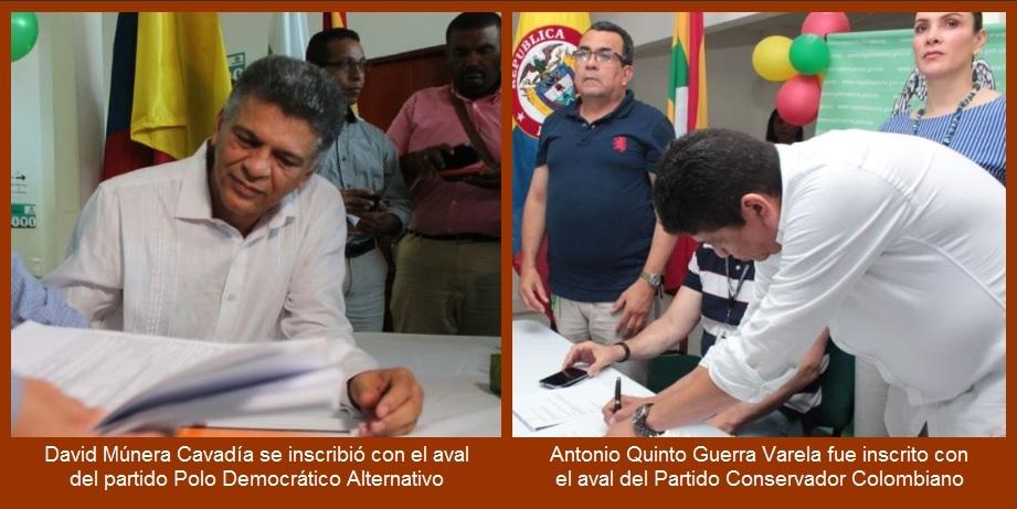 Continúa inscripción de candidatos a la Alcaldía de Cartagena; hoy podría ser el último día…