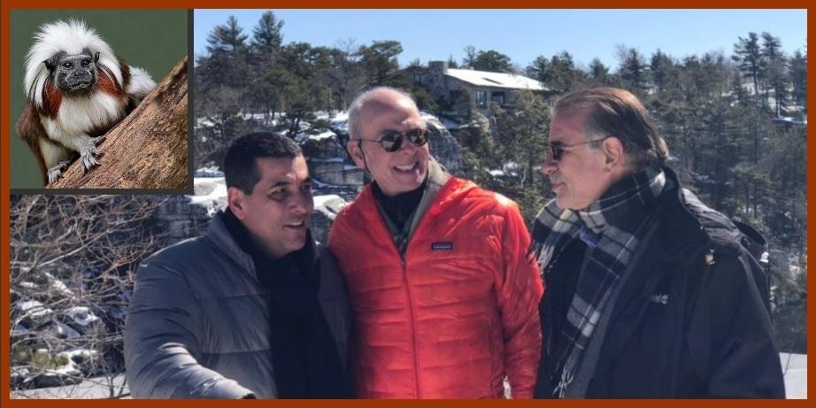 Gobernadores Turbay y Verano, en los EE.UU. gestionando preservación del tití cabeciblanco