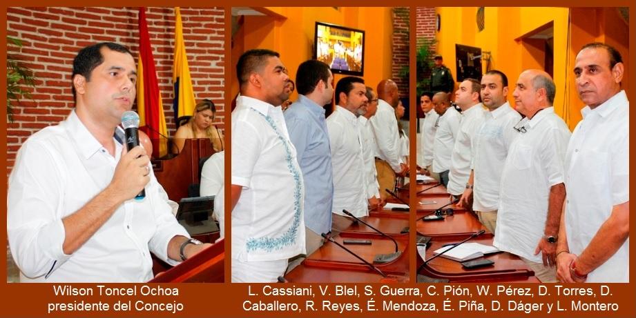 Presidente del Concejo pide a todos «devolver la estabilidad que se merece Cartagena»