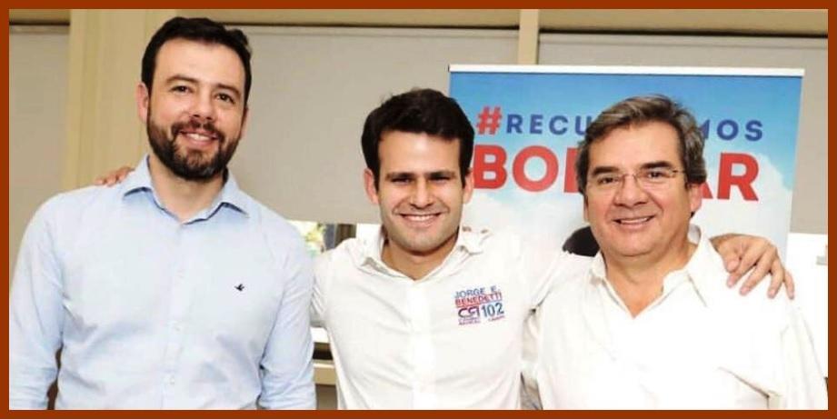 Candidatura a la Cámara de Jorge Benedetti, una apuesta por el voto de opinión