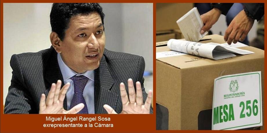 En la Registraduría de Bolívar «se trafica con paquetes electorales»: Miguel Ángel Rangel
