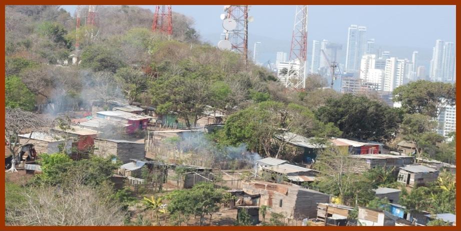 La Popa agoniza ¡Crisis ambiental en Cartagena!
